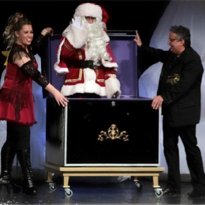 Le voyage au royaume du père Noël